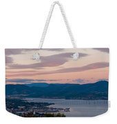 Hobart Harbour During Sunset Weekender Tote Bag