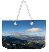 Hobart Tasmania Mount Wellington Weekender Tote Bag