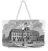Hoboken: College, 1878 Weekender Tote Bag