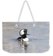 Hodded Merganser Weekender Tote Bag