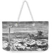 Hog Driving, 1868 Weekender Tote Bag