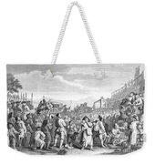 Hogarth: Industry, 1751 Weekender Tote Bag