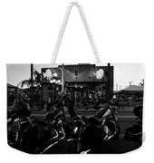 Hogs At Gaspar's Weekender Tote Bag