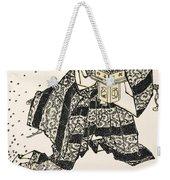 Hokusai: Setsubun, 1816 Weekender Tote Bag