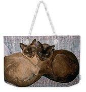 Hold A True Friend Weekender Tote Bag