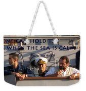 Holding The Helm Weekender Tote Bag