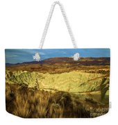 Hole In The Basin Weekender Tote Bag