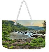 Hole In The New River Weekender Tote Bag
