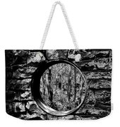 Hole In The Wall Weekender Tote Bag