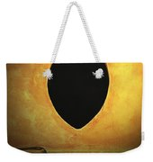Hole In The Wall With Lamp Weekender Tote Bag