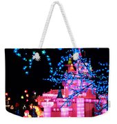 Holiday Lights 8 Weekender Tote Bag