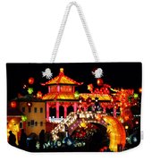 Holiday Lights 9 Weekender Tote Bag