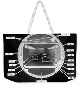Holland Tunnel Section View Weekender Tote Bag