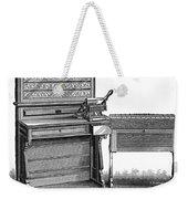 Hollerith Tabulator, 1890 Weekender Tote Bag