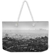 Hollywood From Above Weekender Tote Bag