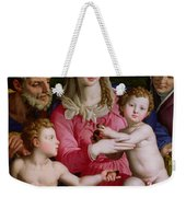 Holy Family With St Anne And The Infant St John The Baptist Weekender Tote Bag
