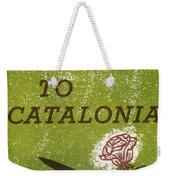 Homage To Catalonia Weekender Tote Bag