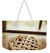 Home Made Pie Cooling By Open Window Weekender Tote Bag