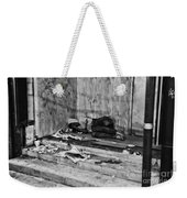 Homeless Weekender Tote Bag