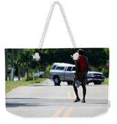 Homeless  Weekender Tote Bag
