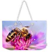 Honey Bee  Weekender Tote Bag by Elena Elisseeva