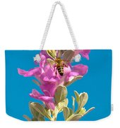 Honey Bees On Sage 1 Weekender Tote Bag