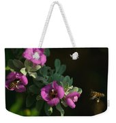 Honey Bees On Sage 2 Weekender Tote Bag