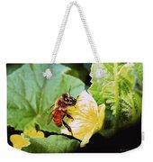 Honeybee And Cantalope Weekender Tote Bag