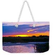 Honeymoon Island Sunset Weekender Tote Bag