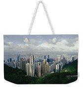 Hong Kong Island And The Bay Weekender Tote Bag