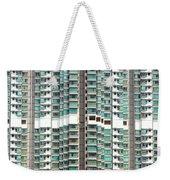 Hong Kong Residential Building Weekender Tote Bag
