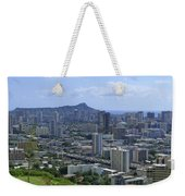 Honolulu And Diamond Head Weekender Tote Bag