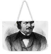 Honore De Balzac (1799-1850) Weekender Tote Bag by Granger