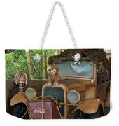 Hood Ornament Disney Bear Weekender Tote Bag
