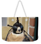 Hooded Barbary Falcon Weekender Tote Bag