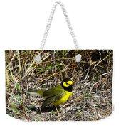 Hooded Warbler Weekender Tote Bag