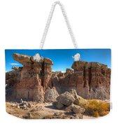 Hoodoos At Gooseberry Desert Wyoming Weekender Tote Bag