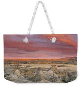 Hoodoos, Milk River Badlands, Writing Weekender Tote Bag