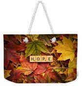 Hope-autumn Weekender Tote Bag