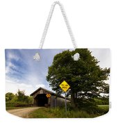 Hopkins Covered Bridge Weekender Tote Bag