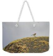 Hopping Blue Bird Weekender Tote Bag