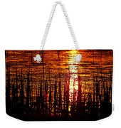 Horicon Marsh Sunset Wisconsin Weekender Tote Bag