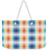 Horizontal Lights Weekender Tote Bag