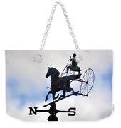 Horse And Buggy Weather Vane Weekender Tote Bag