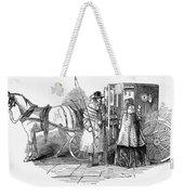Horse Carriage, 1847 Weekender Tote Bag