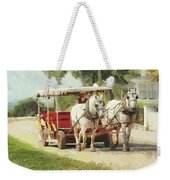 Horse Carriage Mackinac Island Michigan Weekender Tote Bag