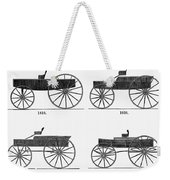 Horse Carriages, 1810-1860 Weekender Tote Bag