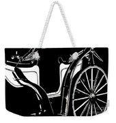 Horse Drawn Carriage Antique Weekender Tote Bag