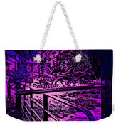 Horse Drawn Carriage In The Snow Weekender Tote Bag