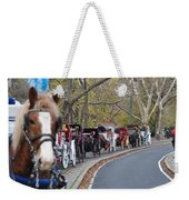 Horse-drawn Carriages Weekender Tote Bag
